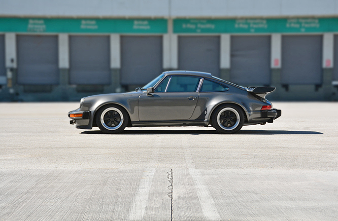 George Perdomo's signature Porsche height & rake setting on classic 930