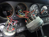 Porsche interior dash board gauges are o