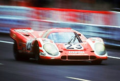Porsche 917 short tail was known to create much more turbulence behind itself.