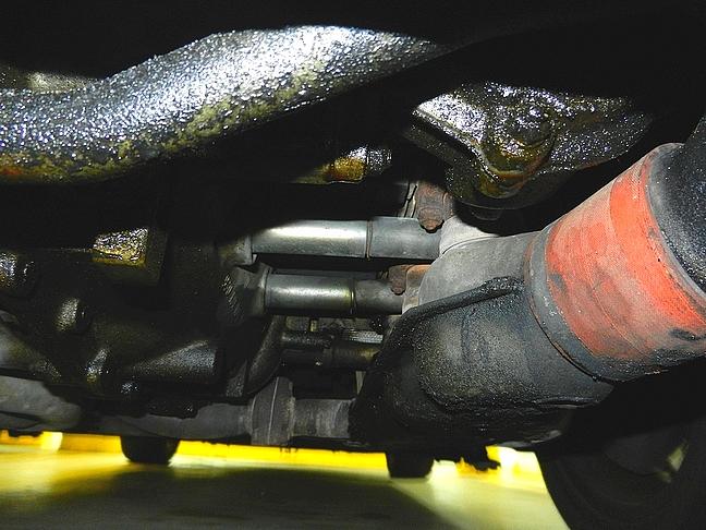 Excessive oil leaking from below Porsche engine