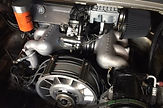 porsche 3.2 engine with spin-on fuel filter modification