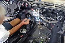 porsche interior is significantly apart to make a number of repairs