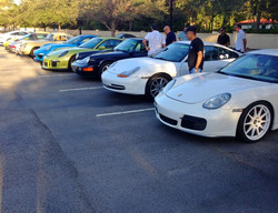 Miami Porsche specialist George Perdomo meets for breakfast in the Gables with fellow Porsche owners