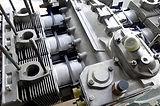 miami porsche engine that is very clean