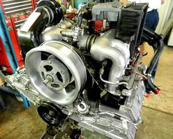 30 year old Porsche engine has been restored / rebuilt