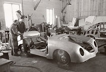 Porsche 356 being made by hand at Gmund