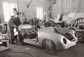 Porsche 356 being made by hand at Gmund