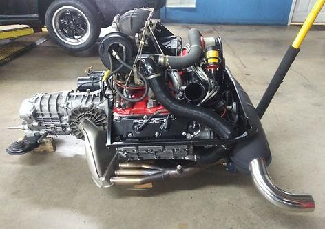 Profile of 1982 miami Porsche 3.0 Litre engine after gp autowerks rebuild