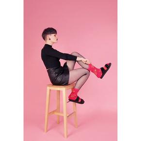 Girl Power Punk socks by _narvskayadosta