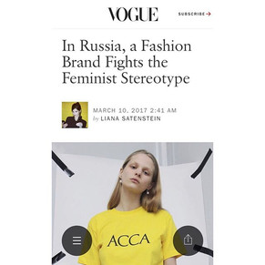 We are so exited to be on Vogue.com!  Ch