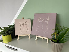 Embroided Breast Canvas