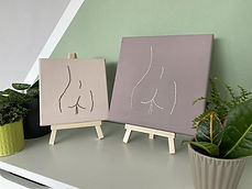 Embroided Bum Canvas