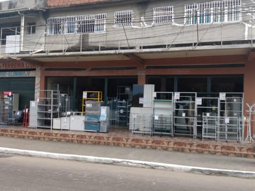 Ordem Pública de Caxias fiscaliza comércio aberto