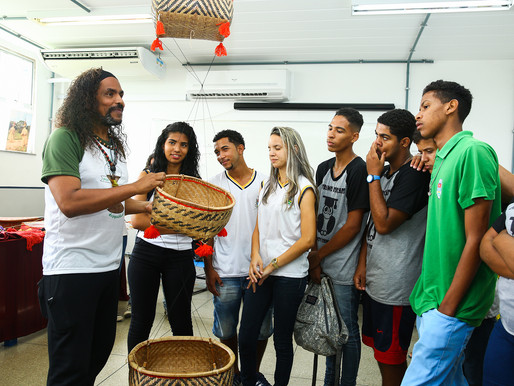 Alunos da rede municipal visitam campus Itaguaí do CEFET/RJ
