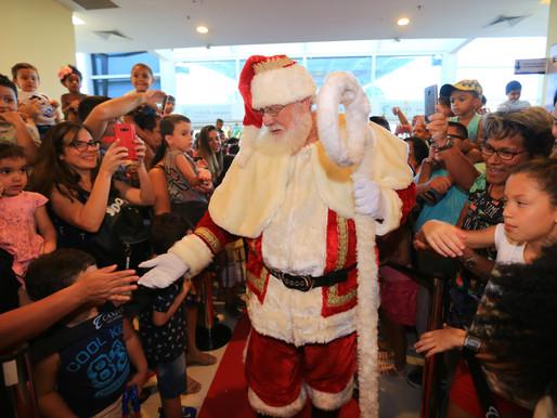 O Papai Noel do Caxias Shopping vai chegar dia 15 de novembro em uma grande festa