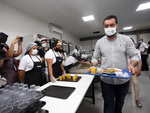 Governador em exercício inaugura Restaurante do Povo em Duque de Caxias