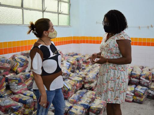 Enfim alunos de Queimados começam a receber alimentação durante a pandemia