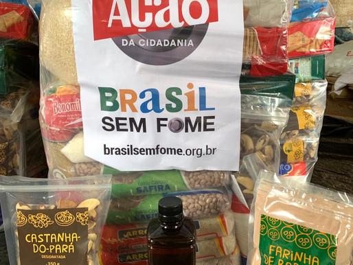 Grupo Força Máxima promove campanha de doações de alimentos