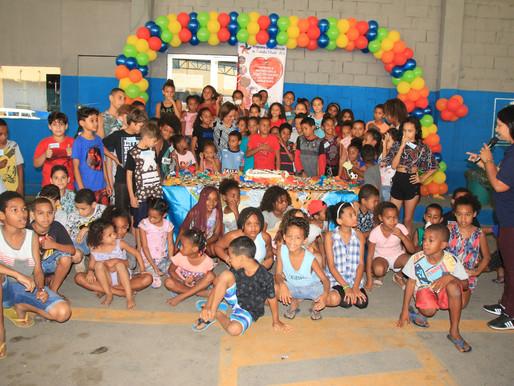 Mesquita faz festa para crianças atendidas pela Assistência Social