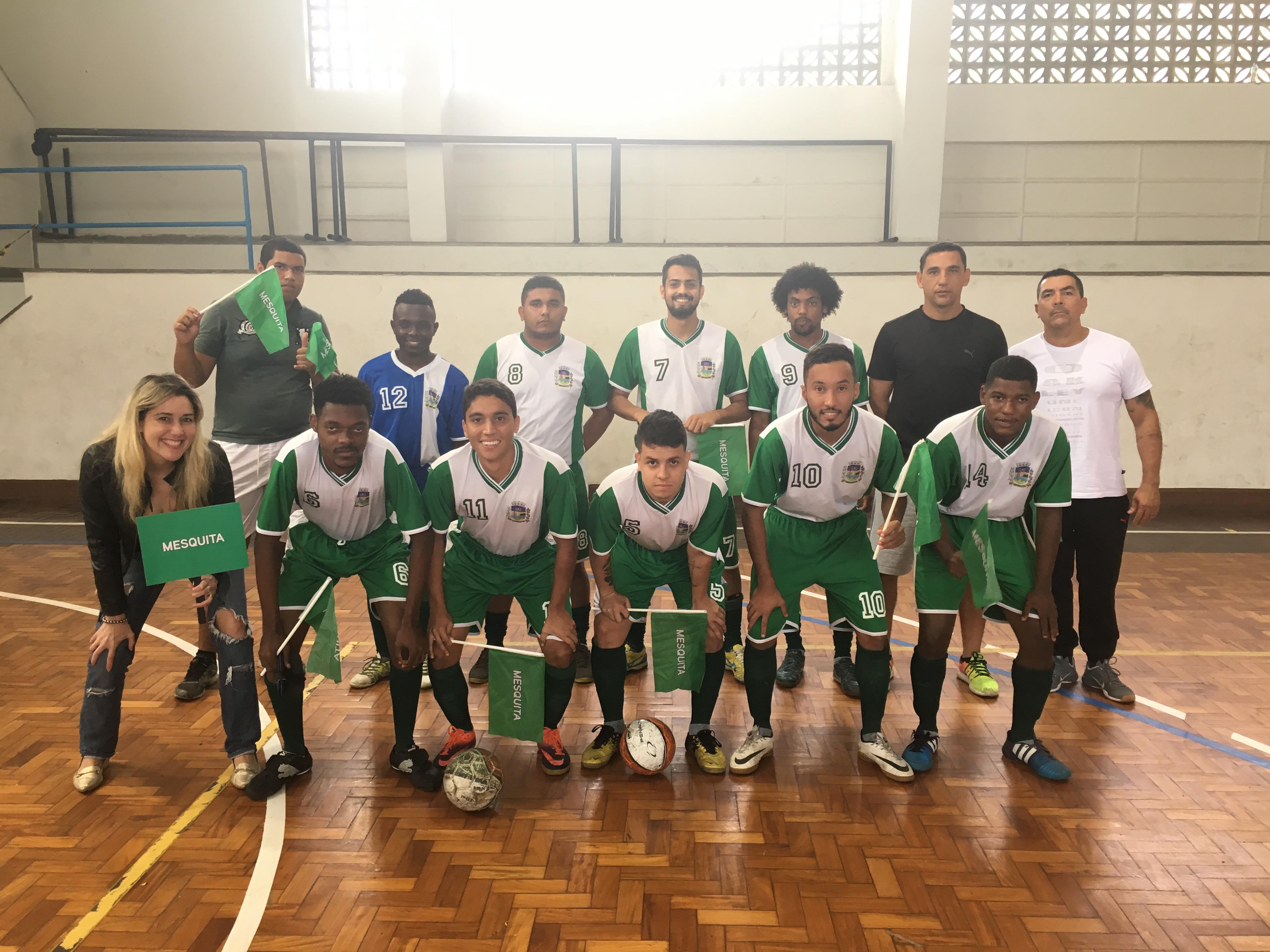 Mesquita conquista Liga Unificada de Futsal em Olimpíadas Especiais Brasil   4ad574fb40e66
