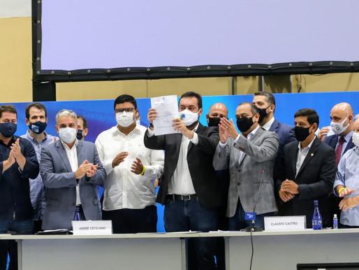 Governador em exercício sanciona o Supera Rio, projeto de lei que garante auxílio emergencial de até