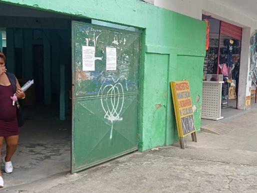Escola Municipal Alan Kardec está sendo despejada