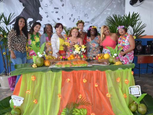 Festa Tropical anima CRAS Vila Inhomirim III, em Magé