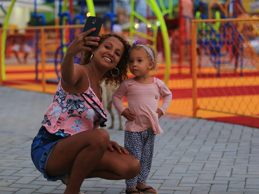 Praça de Heliópolis, em Belford Roxo, é inaugurada com grande festa