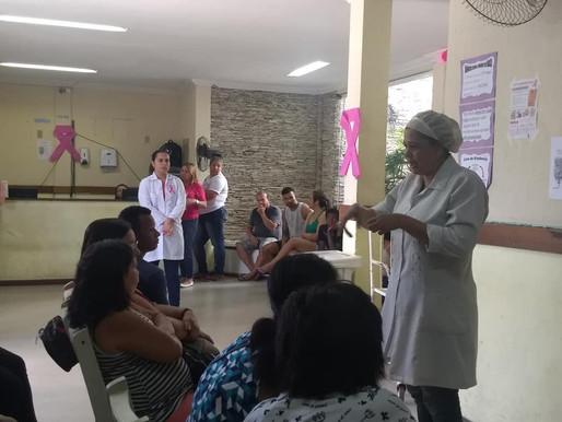 Evento em Fragoso encerra campanha Outubro Rosa