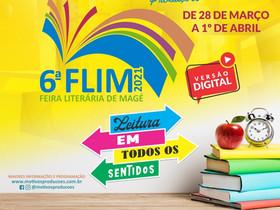 6ª FEIRA LITERÁRIA DE MAGÉ LEVA O MUNDO DA LITERATURA PARA INTERNET
