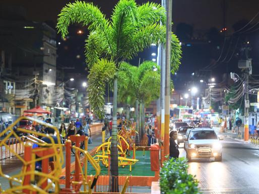 Prefeitura inaugura praça no Parque São Vicente, em Belford Roxo