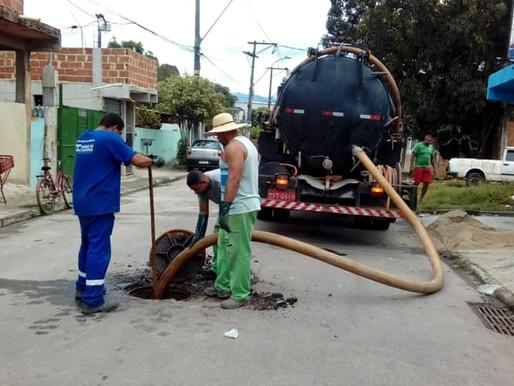 Programa de obras da prefeitura de Caxias continua no segundo distrito