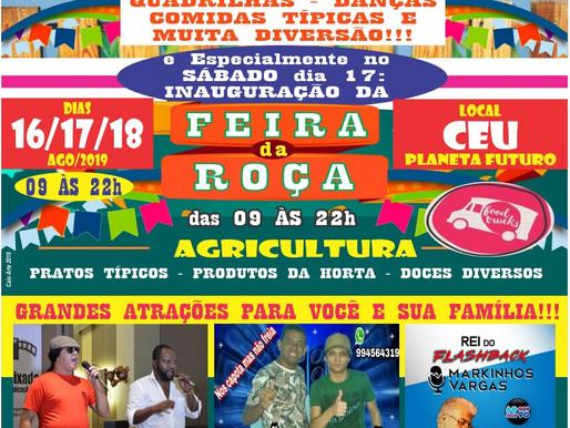 Começa nesta sexta a tradicional festa do São Roque