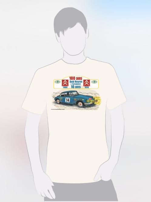 Tee Shirt Homme - 100 ans Citroën / 10 ans Bob Neyret