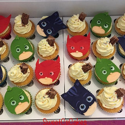 Pj masks & '99' cupcakes xx #pjmaskcupca