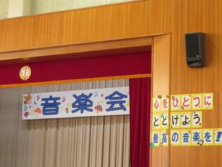 小学校音楽会 明日は桜井さんの集会(18:00アルフォーレ)です