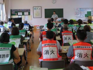 町内防災訓練 オリンピック報告会
