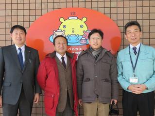 六ケ所村原子燃料サイクル施設の視察
