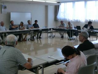 中央地区町内会長と市議との懇談会