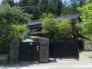 田中角栄先生の生家訪問と墓参り