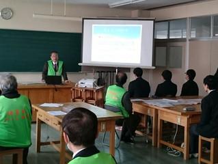 柏崎工業高校でのDIG 新春体育懇親会