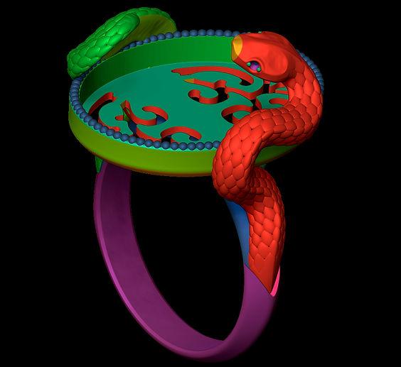 Serpiente y Cabochon3.jpg