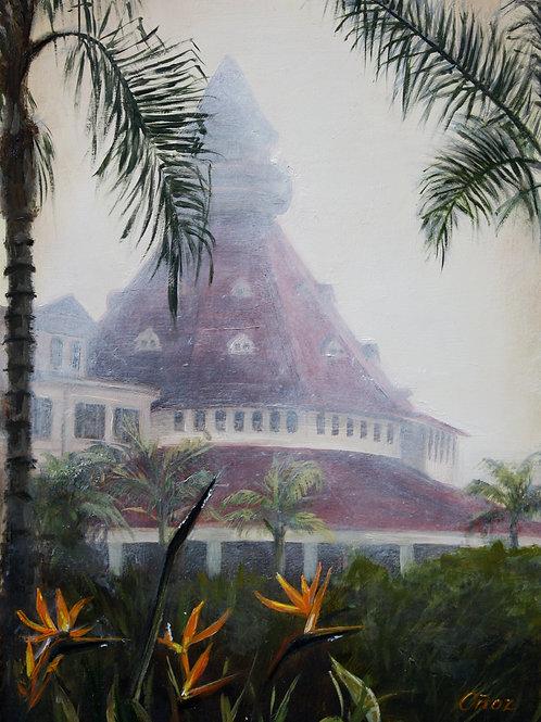 Misty Morning at Hotel Del Coronado