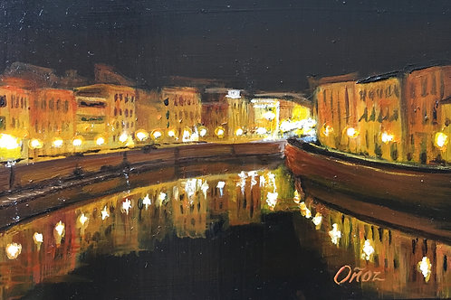 Nighttime in Pisa - mini
