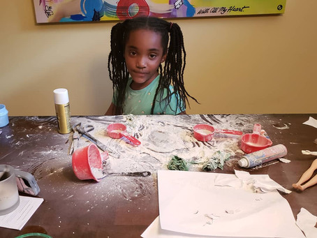 """When the parents are away, the kids will """"create""""..."""