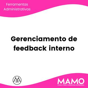 Gerenciamento de feedback interno