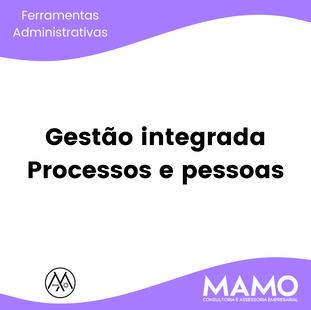 Gestão integrada - Processos e pessoas