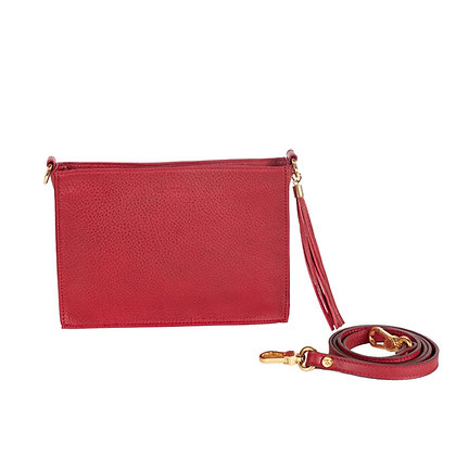 CROSSBODY CLUTCH (RED)
