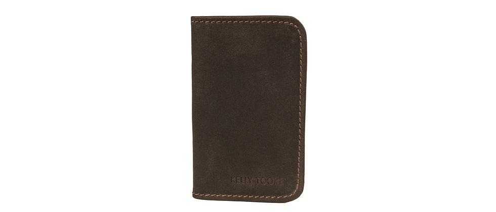 DOUBLE CARD HOLDER (CHOCOLATE)