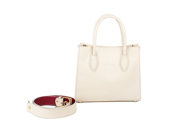 GAYLE SATCHEL (CREAM)